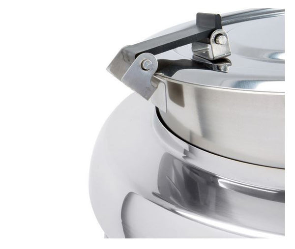 Electric 11 Qt. Catering Party Soup Gravy Cheese Sauce Kettle Warmer, 400 Watt