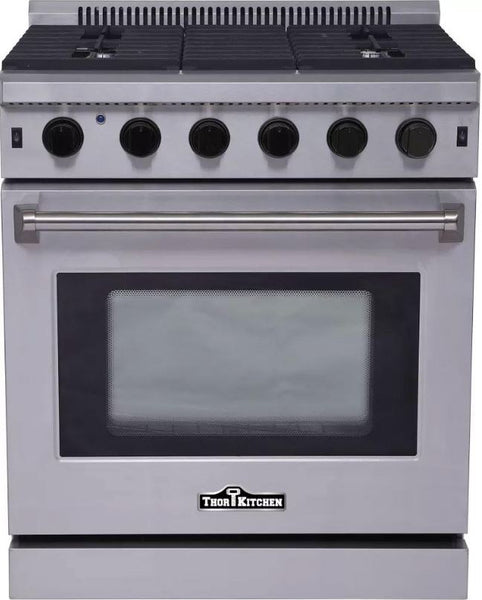 "Thor Kitchen 30"" All-Gas 4.55 cu. ft. Professional Stainless Steel Range"