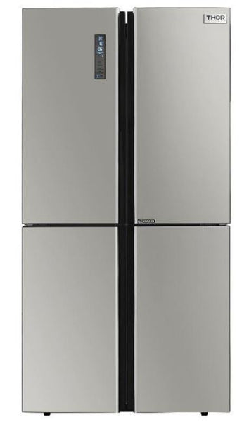 "Thor Kitchen 36"" Stainless 4 Door Counter-Depth French Door Refrigerator"