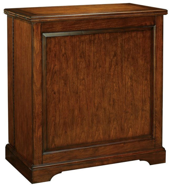Traditional Cherry Wood Finished Versatile Wine & Bar Console Cabinet