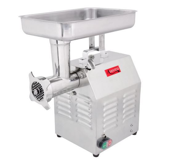 Stainless 1 HP Commercial Kitchen Meat, Sausage Grinder #12 - 110V