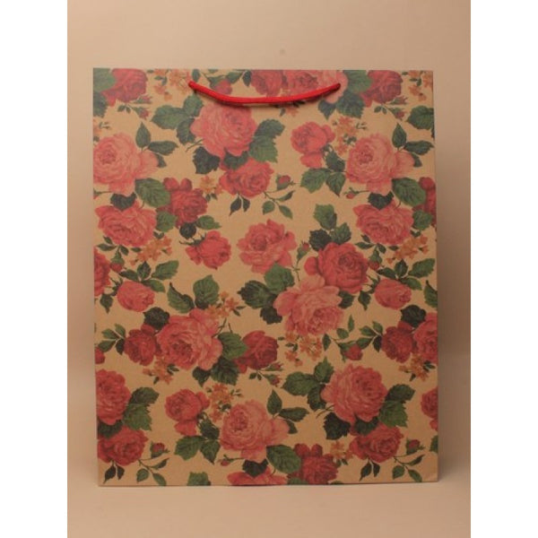 Extra Large Floral Gift Bag