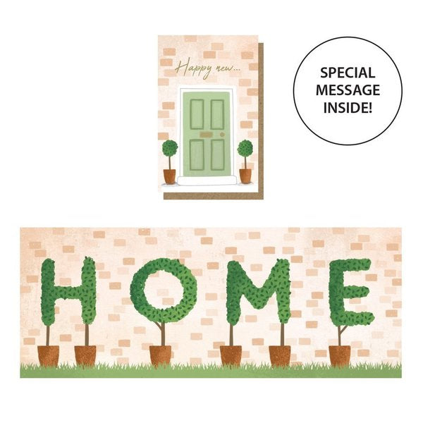 Expanding Home Card