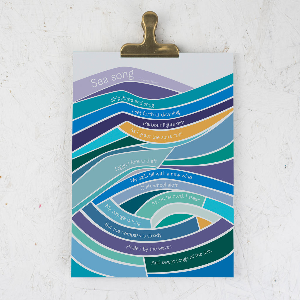 Earthbound Sea Print