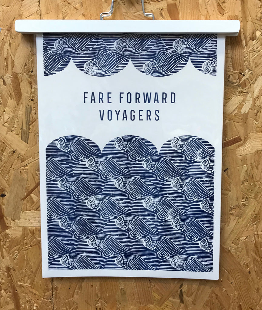 The Passenger Press - Fare Forward Voyagers Print
