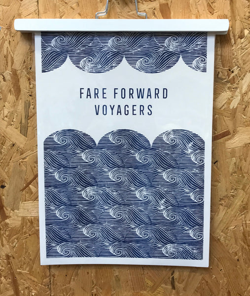 Fare Forward Voyagers Print