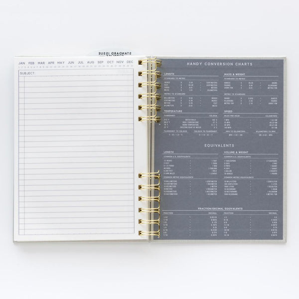 Standard Issue Notebook No.12 - Black