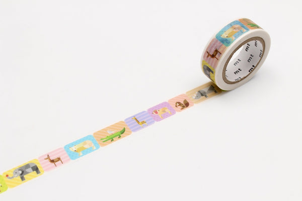 Geomtric Animals Masking Tape