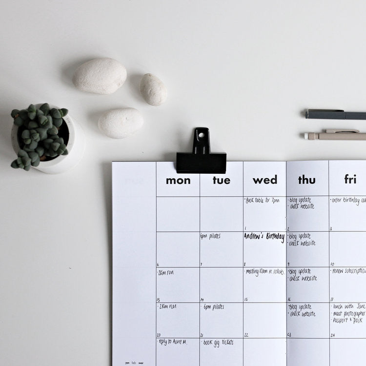 Monthly Planner {dateless}