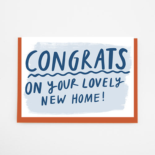 Congrats on your lovely home