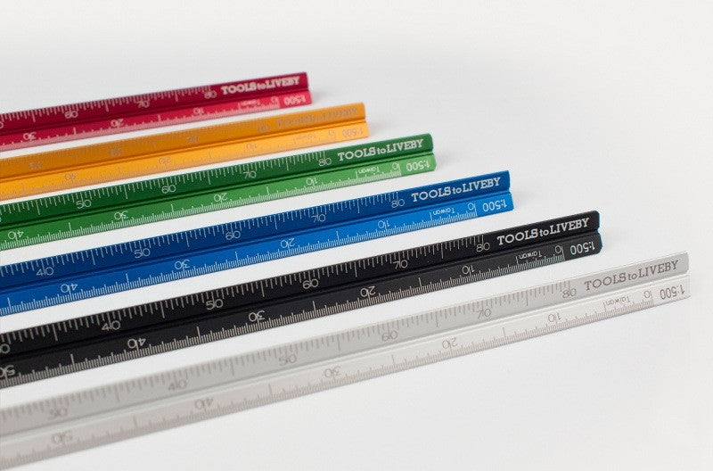 Tools to Live By Stainless Steel Ruler - 15cm