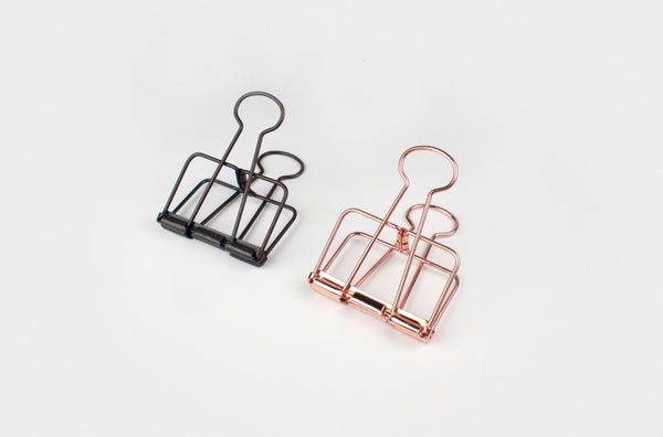 Bull Dog Clips - Copper