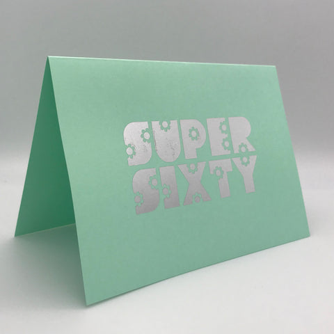 Super Sixty Card