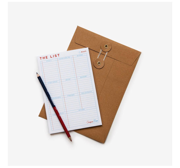 The Shopping List Pad
