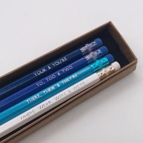 Grammar Pencil Box Set