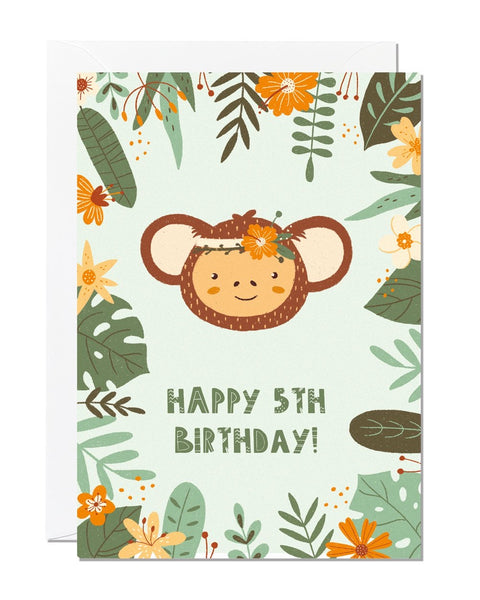 Happy 5th Birthday Card