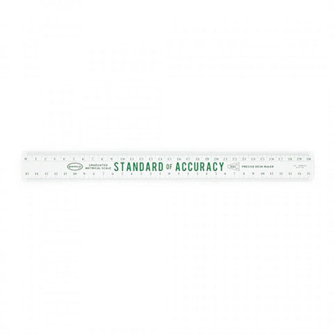 Penco Wooden Ruler - White