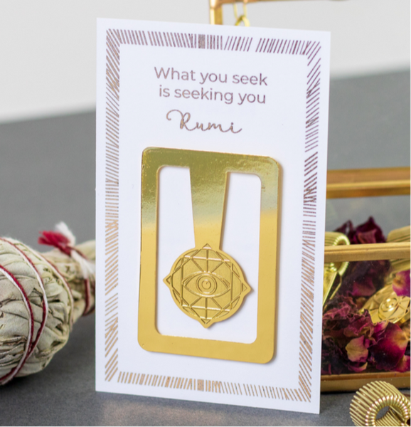 Rama Publishing Gold Eye Bookmark