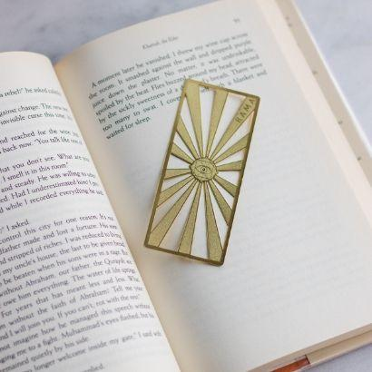 Rama Publishing Gold Sun Bookmark