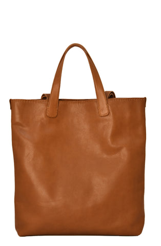 Calf Tote Natural