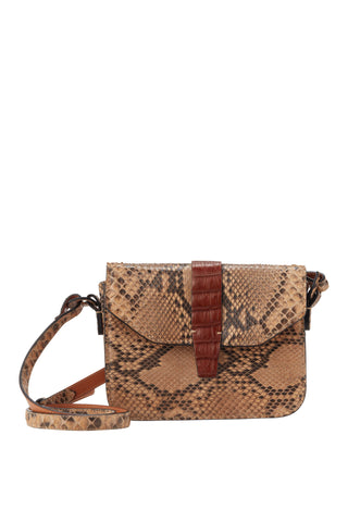 Python cross body bag