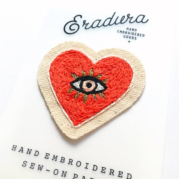 Corazón Embroidered Patch