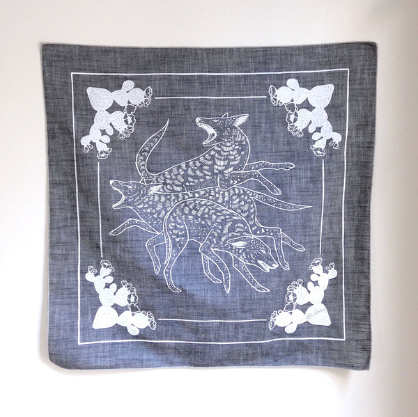 Dog Pack Chambray Bandana