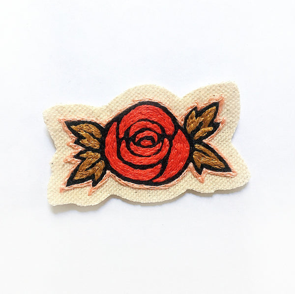 Rosa Embroidered Patch