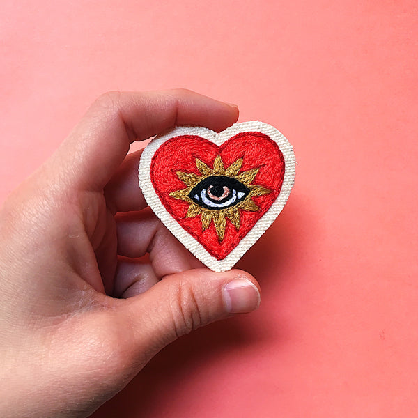 Made to Order ~ Corazón Embroidered Patch