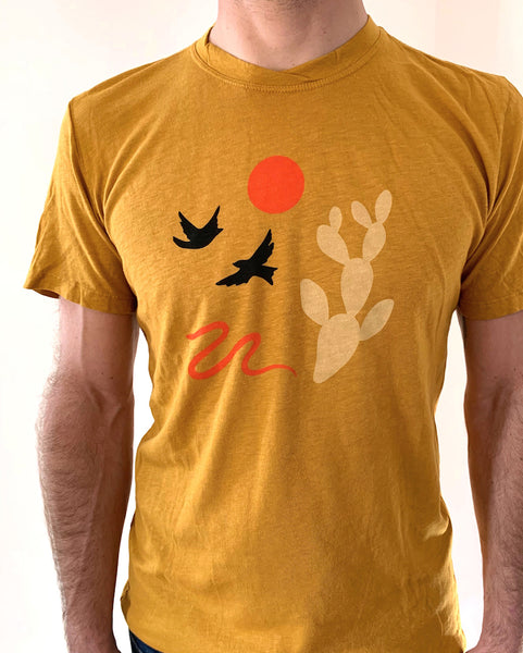 Circle the Sun Organic Cotton/Hemp Unisex Tee