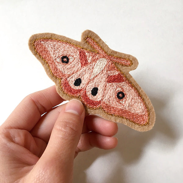 Moth No. 2 Embroidered Patch