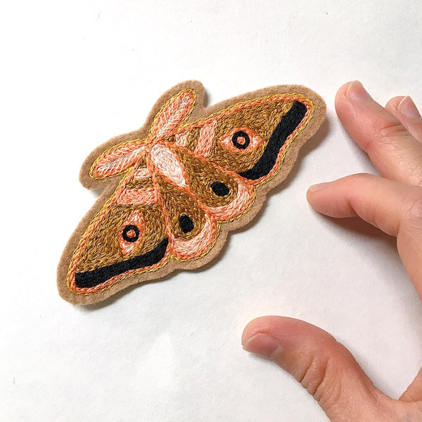 Moth No. 3 Embroidered Patch