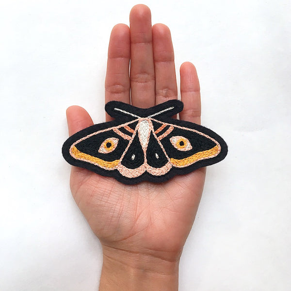 Moth No. 5 Embroidered Patch