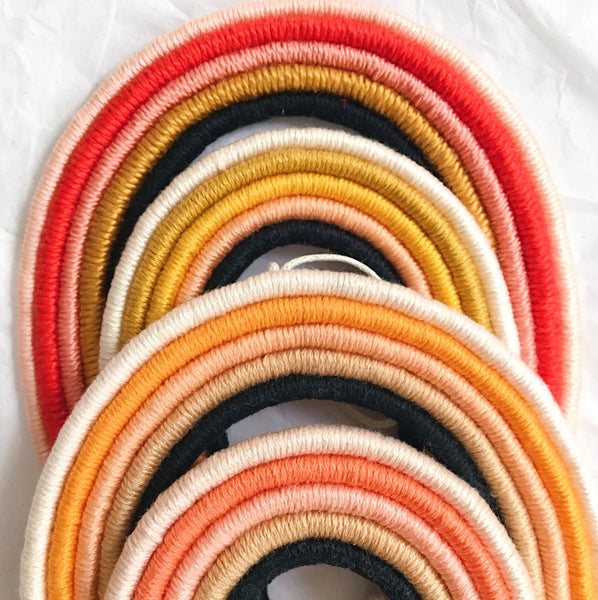 Rainbow Horseshoe Wall Hanging