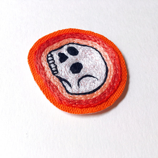 Deserted Canvas Skull Patch