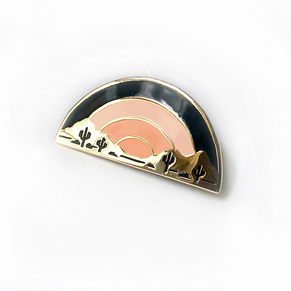 Sundown Enamel Pin