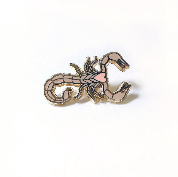 Sand Scorpion Enamel Pin