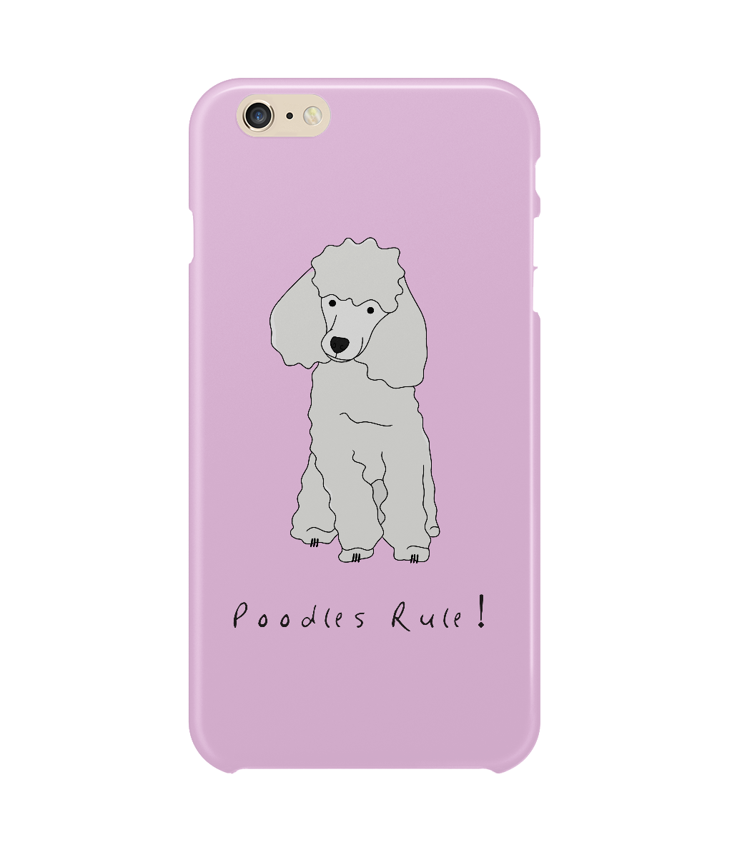 iPhone 6 Plus Full Wrap Phone Case - Poodles Rule!