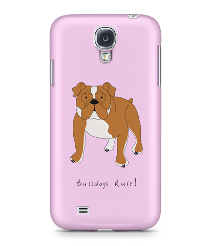 Samsung Galaxy S4 Full Wrap Case - Bulldogs Rule! - Dogs Rule!