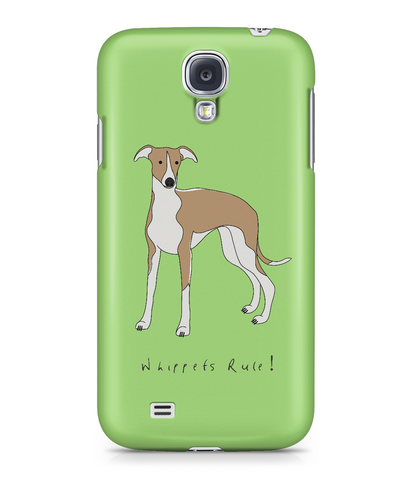 Samsung Galaxy S4 Full Wrap Phone Case - Whippets Rule!