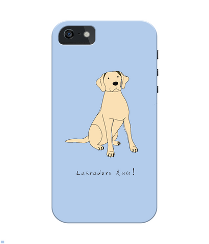iPhone 4/4s Full Wrap Case - Labradors Rule! - Dogs Rule!