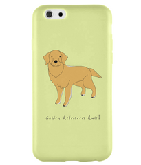 iPhone 6 Full Wrap Phone Case - Golden Retrievers Rule!