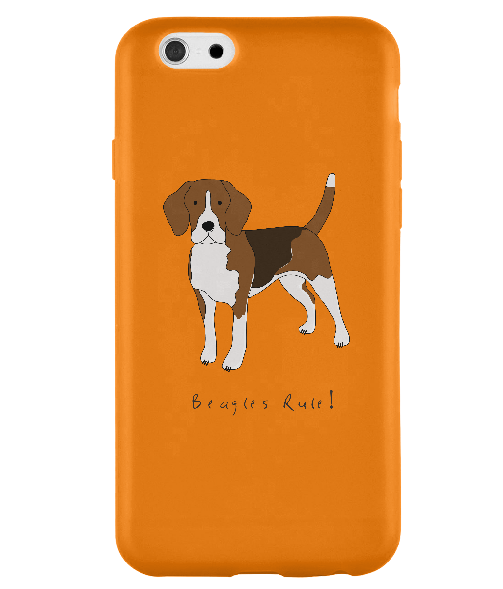 iPhone 6s Full Wrap Case - Beagles Rule! - Dogs Rule!