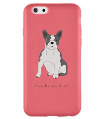 iPhone 6s Full Wrap Case - French Bulldogs Rule! - Dogs Rule!