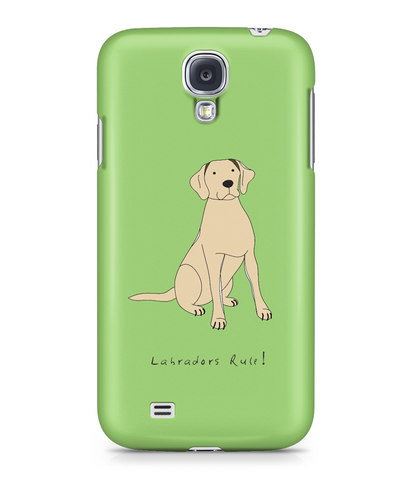 Samsung Galaxy S4 Full Wrap Case - Labradors Rule! - Dogs Rule!
