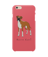 iPhone 6S Plus Full Wrap Phone Case - Boxers Rule!