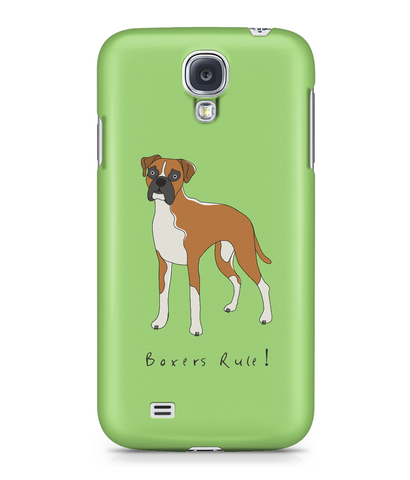 Samsung Galaxy S4 Full Wrap Phone Case - Boxers Rule!