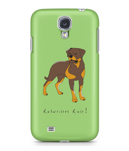 Samsung Galaxy S4 Full Wrap Phone Case - Rotweilers Rule!