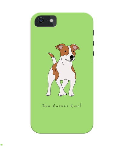 iPhone 4/4s Full Wrap Phone Case - Jack Russells Rule!