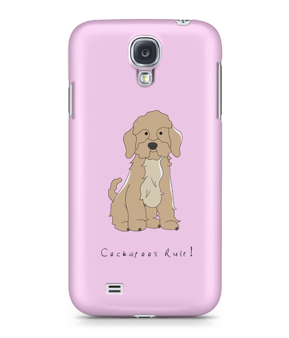 Samsung Galaxy S4 Full Wrap Phone Case - Cockerpoos Rule!